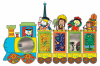 World Train Play Unit incl. 5 Panels